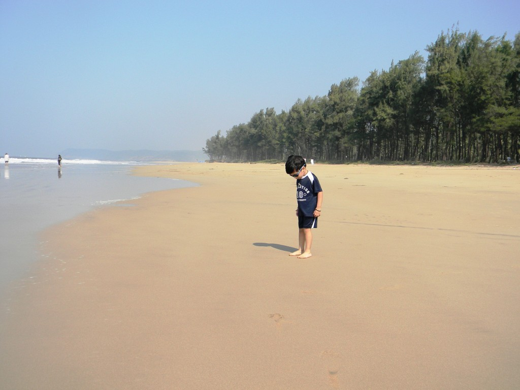 The Beautiful Guhagar Beach