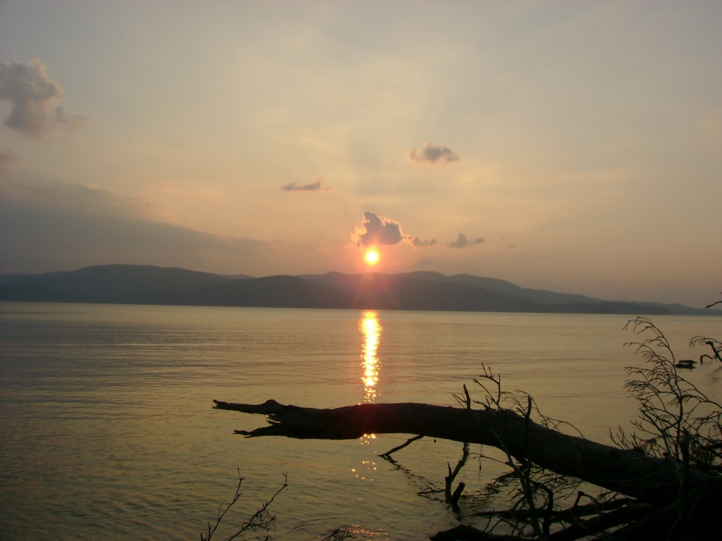 Sunset at Chidiya Tapu