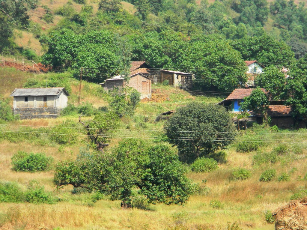 A Village on the hills