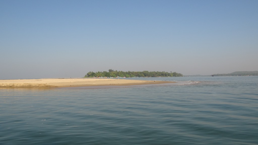 A small Island at Sangam