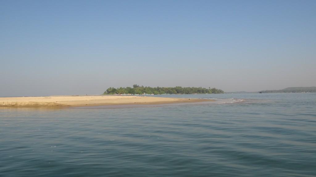 A small Island at Sangam