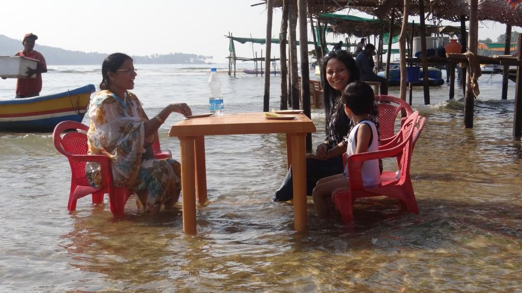 Breakfast at Tsunami Island