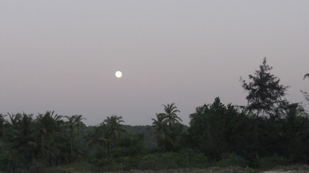 Moonrise at Tarkarli