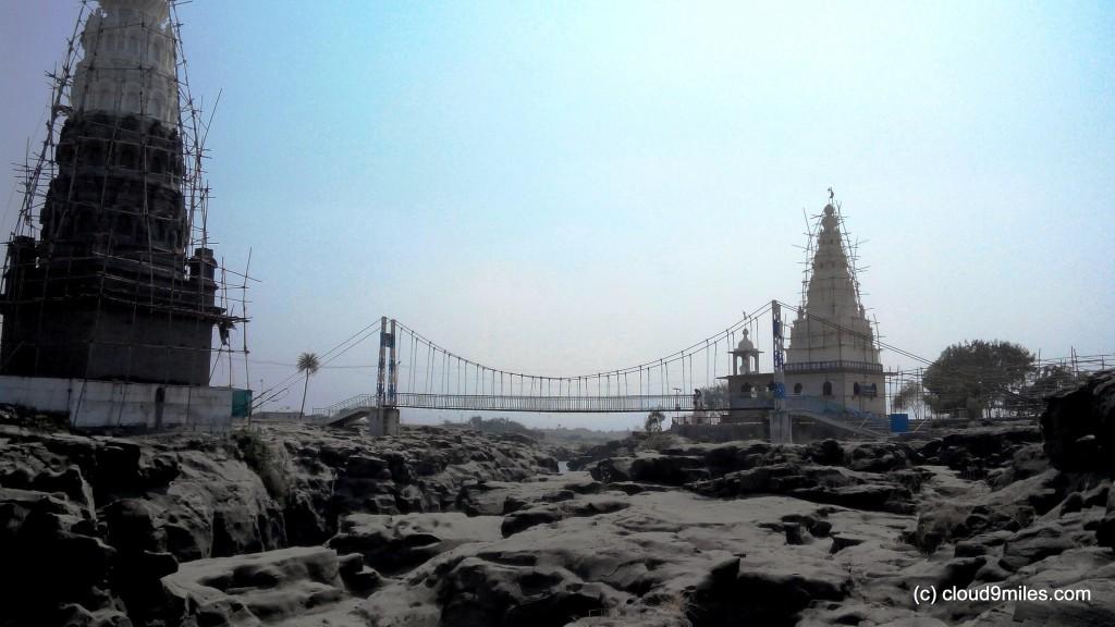 Temples and hanging bridge !!!