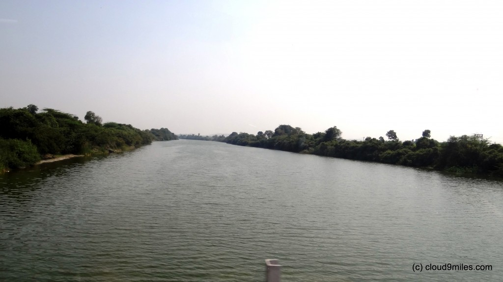 A river on the way