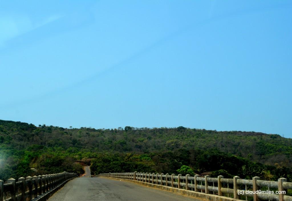 The bridge over Jog River