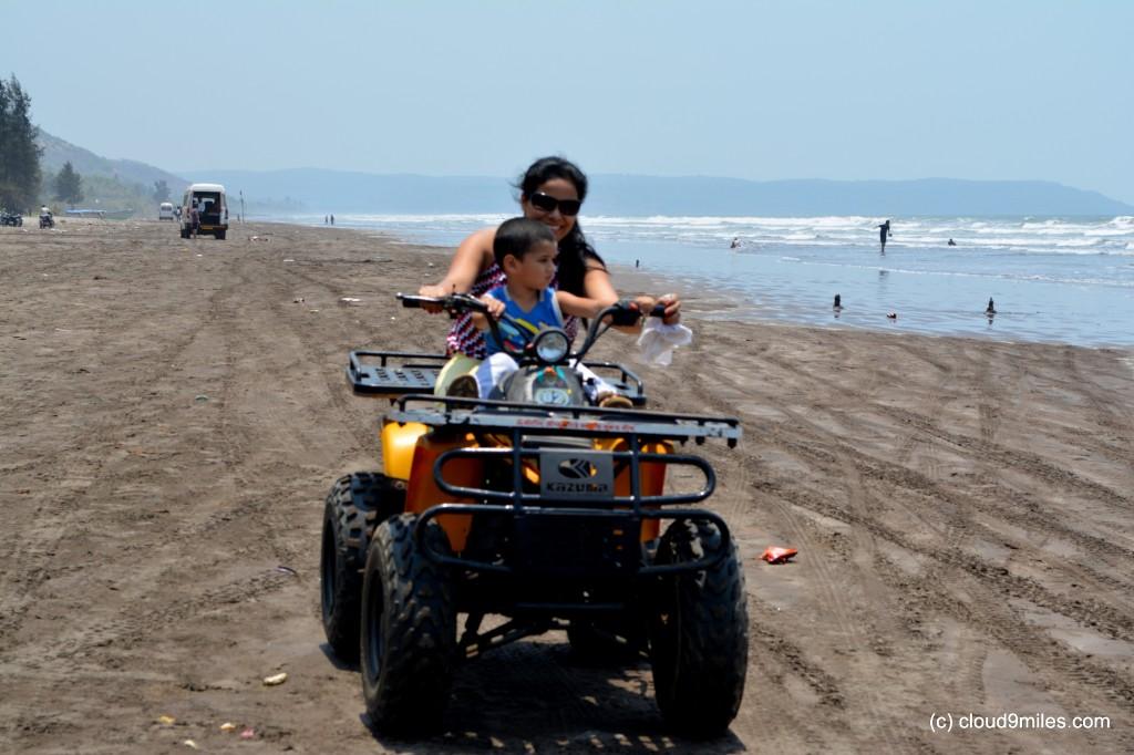 Terrain Bile Ride at Murud Beach