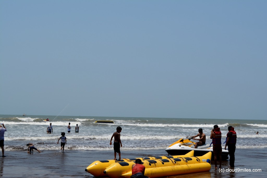 Water sports at Murud Beach