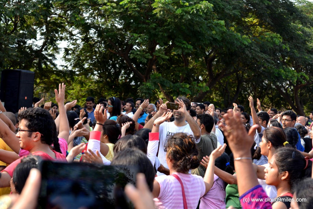 People Participating in Zumba Session!!!