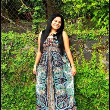 Maxi dress – Traditional paisley print!!!