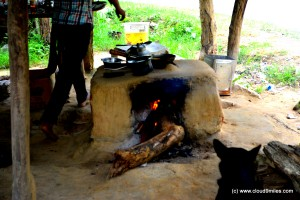 Chullah - traditional way of cooking!