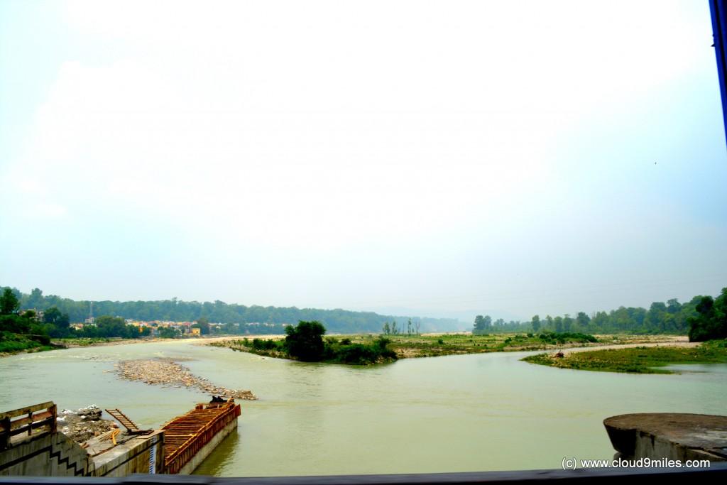 Ramnagar Kosi Reservoir!