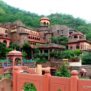 Neemrana Fort Palace – A tryst with history and luxury