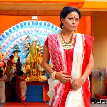 Traditional Bengali Drape