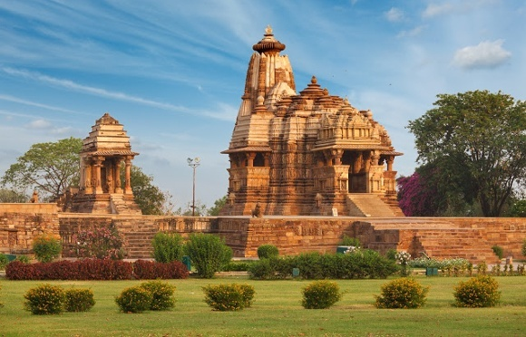 Jagdamba Temple and Mahadev Mandapa at Khajuraho