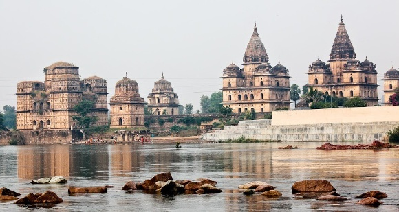 Temple in Orchha