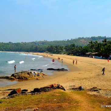 The virgin beaches of Gokarna