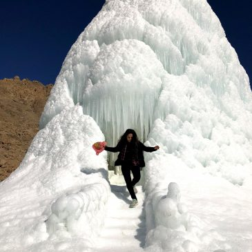 Ice Stupa – The Artificial Glacier